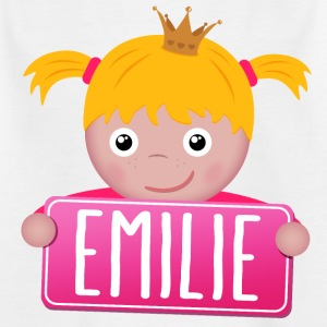 Little Princess Emilie - T-shirt Enfant
