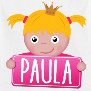 Little Princess Paula - Børne-T-shirt