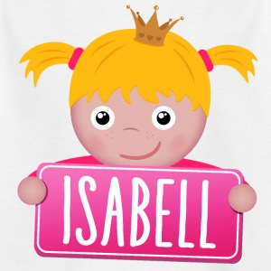 Little Princess Isabell - Kinderen T-shirt