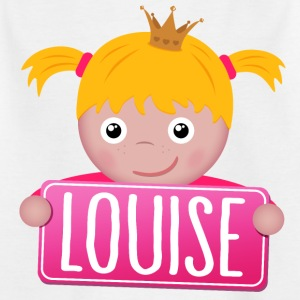 Little Princess Louise - Kinderen T-shirt