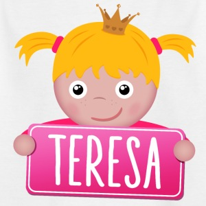 Little Princess Teresa - T-shirt barn