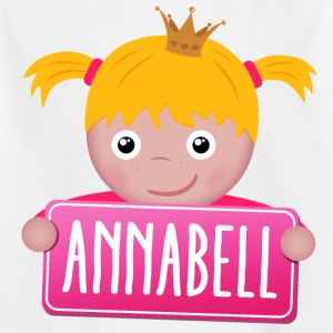 Little Princess Annabell - T-shirt Enfant
