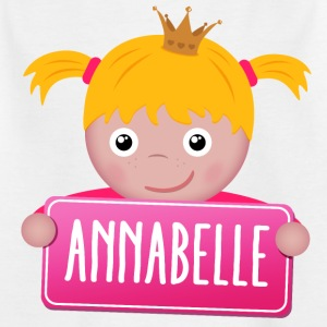 Little Princess Annabelle - T-shirt Enfant