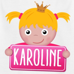 Little Princess Karoline - Kinderen T-shirt