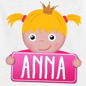 Little Princess Anna - T-shirt barn
