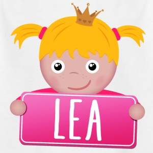 Little Princess Lea - Kinderen T-shirt