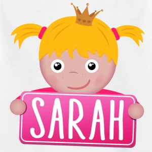 Little Princess Sarah - Kids' T-Shirt