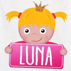 Little Princess Luna - Kids' T-Shirt