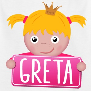 Little Princess Greta - Kinderen T-shirt