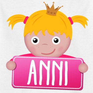 Little Princess Anni - T-shirt Enfant