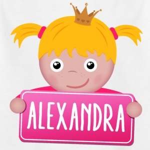 Little Princess Alexandra - Børne-T-shirt
