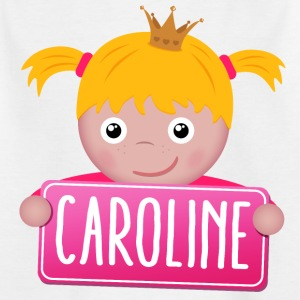 Little Princess Caroline - Kids' T-Shirt