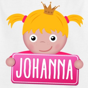 Little Princess Johanna - Kinderen T-shirt