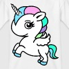 Färg Unicorn - T-shirt barn