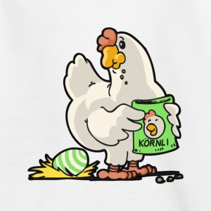 Chicken Chicken Poultry henhouse Easter Egg - Kids' T-Shirt