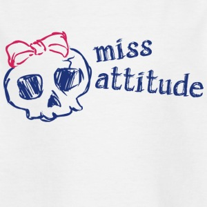 Attitude Miss - T-skjorte for barn