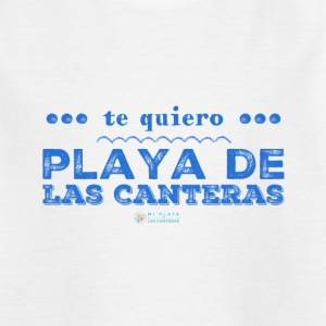 I love Playa de Las Canteras - Kids' T-Shirt