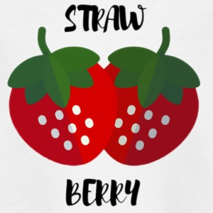 strawberries - Kids' T-Shirt
