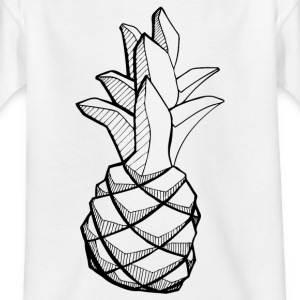 ananas_zpk - T-skjorte for barn