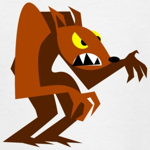 Werwolf Halloween - Kinder T-Shirt
