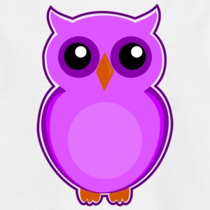 Colorful owl - Kids' T-Shirt