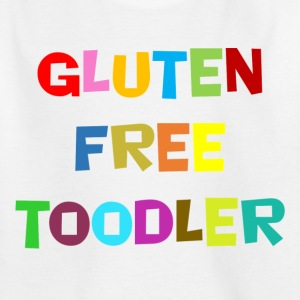 """Glutenfri toodler"" -Kidsdesign for småbarn - T-skjorte for barn"