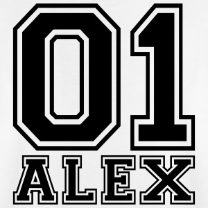 Alex - Name - Kinder T-Shirt