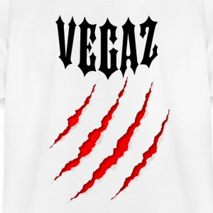 Vegaz Logo V3 Black Bear Claw - Kids' T-Shirt
