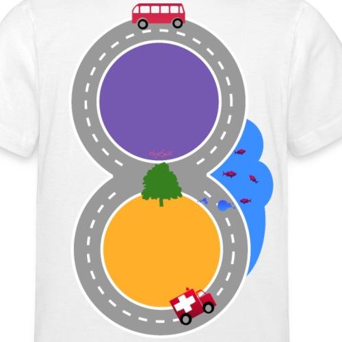 Spiel- und Schlafshirt Kleiner Flitzer - Kinder T-Shirt