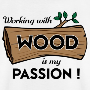 Passion Art Wood - T-skjorte for barn