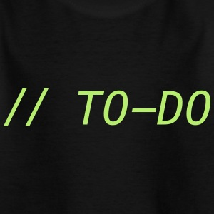 // TO DO - Kids' T-Shirt