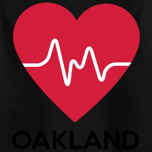 Herz Oakland - Kinder T-Shirt