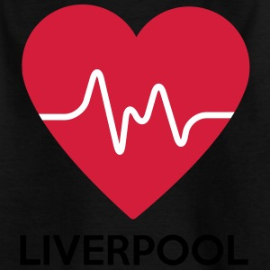 Herz Liverpool - Kinder T-Shirt
