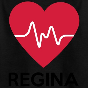 heart Regina - Kids' T-Shirt