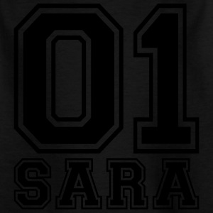 Sara - Name - Kinder T-Shirt