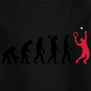 Tennis evolution - Kids' T-Shirt