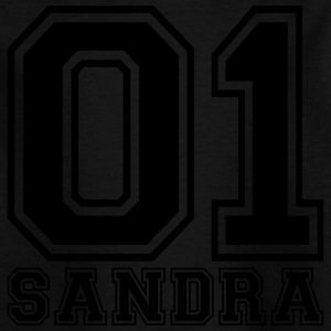 Sandra - Name - Kinder T-Shirt