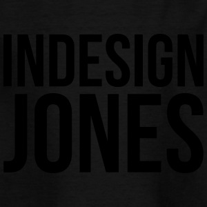 indesign jones - Kids' T-Shirt