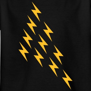 Lightning magi magi Thor Viking Big Bang Geek - Børne-T-shirt