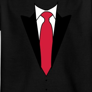 Din private smoking suit - Børne-T-shirt