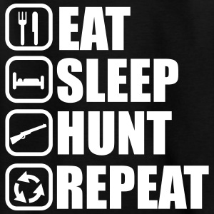 Eat sleep hunt - Hunter - Hunting - Kids' T-Shirt