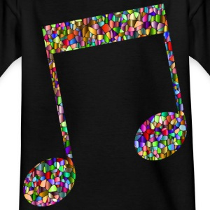 Musical note - Mosaic - Kids' T-Shirt