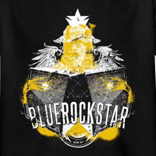 BlueRockStar Eagle - Kinderen T-shirt