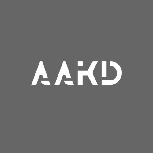 AAKD Logo in weiß - Kinder T-Shirt