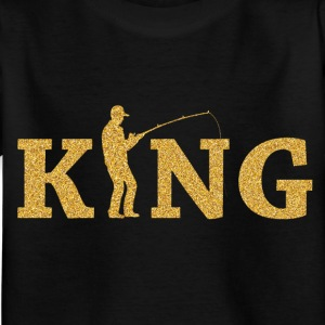 Angeln King - Kinder T-Shirt