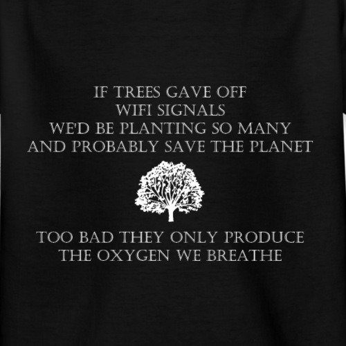 Tree Wifi - Kinderen T-shirt