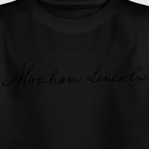Abraham Lincoln 1862 Signature - Kids' T-Shirt