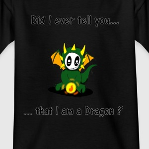 I_am_a_dragon - T-shirt barn