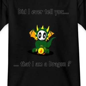 I_am_a_dragon - Kinderen T-shirt