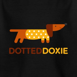 Dotted Doxie - Kinder T-Shirt